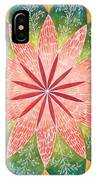 Lacey Petals Mandala IPhone Case