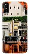 Laconner Waterfront Art Panel IPhone Case