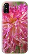 Lacy Dahlia Macro IPhone Case