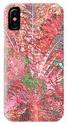 Lacy Pink Palms IPhone Case