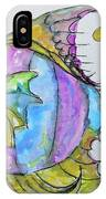 Lady Fish  IPhone Case