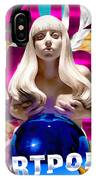 Lady Gaga Graphic Art IPhone Case