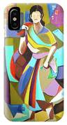 Lady In Mosaic IPhone Case