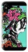 Lady Of The Garden IPhone Case