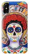 Lady Of The Loteria IPhone Case