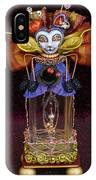 Lady Verbena IPhone Case