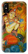 Lady With A Lotus IPhone Case