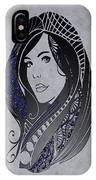 Lady Zen IPhone Case