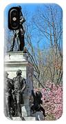 Lafayette Square Named For General Marquis Gilbert De Lafayette IPhone Case