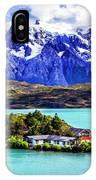 Lago Pehoe IPhone Case