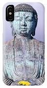 Lahaina Buddha At Jodo  IPhone Case