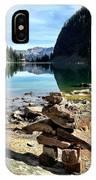 Lake Agnes Tea House IPhone Case