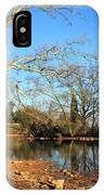 Lake And Trees In Early Spring IPhone Case