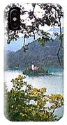 Lake Bled.slovenia.greeting Card IPhone Case