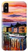 Lake Como - Bellagio  IPhone Case