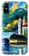 Lake Como Italy IPhone Case