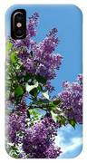 Lake Country Lilacs IPhone Case