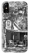 Lake House Black And White IPhone Case