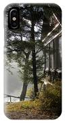 Lake House In Morning IPhone Case