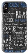 Lake House Rules IPhone Case