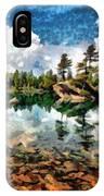Lake Island View IPhone Case