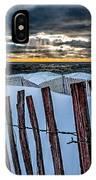 Lake Mi Sunset 15 IPhone Case