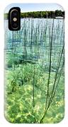 Lake Mindemoya Wading In The Reeds IPhone Case