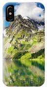 Lake Mountain Green Nature Landscape By Elvin Siew Chun Wai IPhone Case