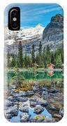 Lake O'hara At Dusk IPhone Case