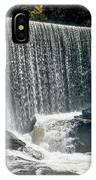 Lake Sequoyah Dam Falls - Highlands, North Carolina IPhone Case
