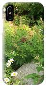 Lake Tahoe Flower Garden IPhone Case