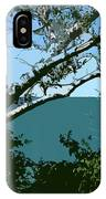 Lake Through The Trees IPhone Case