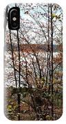 Lake Wallenpaupack Through The Trees IPhone Case