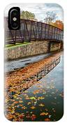Lake Waterford Fall Waterscape IPhone X Case