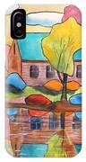 Lakeside Dream House IPhone Case