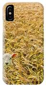 Lamb With Barley IPhone Case