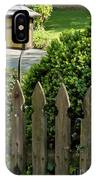 Lamp And Gate IPhone Case