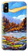 Land Of Lakes IPhone Case