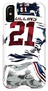 Landon Collins New York Giants Pixel Art 1 IPhone Case