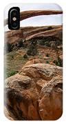 Landscape Arch -- Arches National Park IPhone Case
