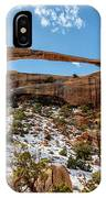 Landscape Arch - Arches National Park Moab Utah IPhone Case