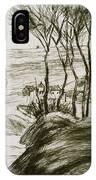 Landscape Near Osny  IPhone Case