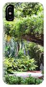 Landscape Rip Van Winkle Gardens Louisiana  IPhone Case