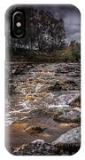 Landscape River And Bridge II IPhone Case
