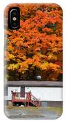 Landscape View Of Mobile Home 1 IPhone Case