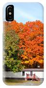 Landscape View Of Mobile Home 2 IPhone Case