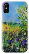 Landscape With Cornflowers 459060 IPhone Case