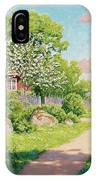 Landscape With Fruit Trees IPhone Case