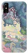 Landscape With Goats IPhone Case