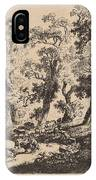 Landscape With Shepherds IPhone Case